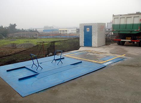 某工业园区安装地埋式垃圾库